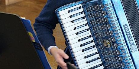 Schnupperstunde  Akkordeon, Keyboard, Blockflöte B. Ohin MSV, Meinerzhagen Tickets