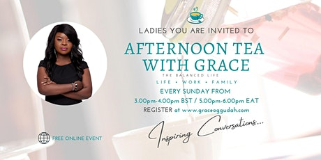 Afternoon Tea With Grace tickets