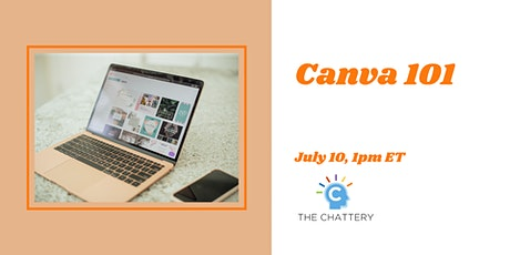 Canva 101 - IN-PERSON CLASS tickets
