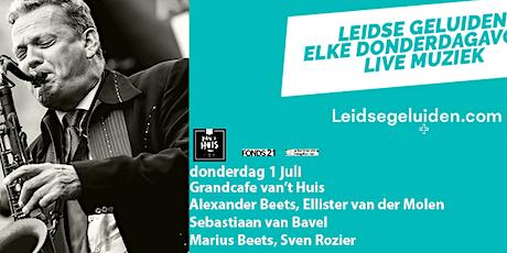 Alexander Beets Quintet/JazzPodium Amersfoort exchange tickets