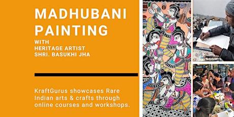 Madhubani Painting-Border Workshop tickets