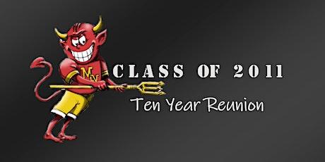 MVHS Class of 2011 - Ten Year Reunion tickets