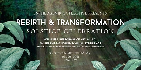Rebirth & Transformation, Solctice celeberation tickets