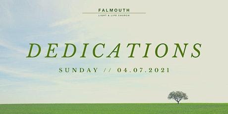 Dedications Sunday tickets
