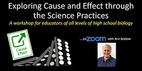 Exploring Cause and Effect through the Science Practices tickets