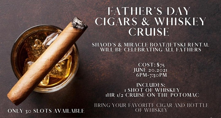 Father's Day Cigar & Whiskey Cruise image