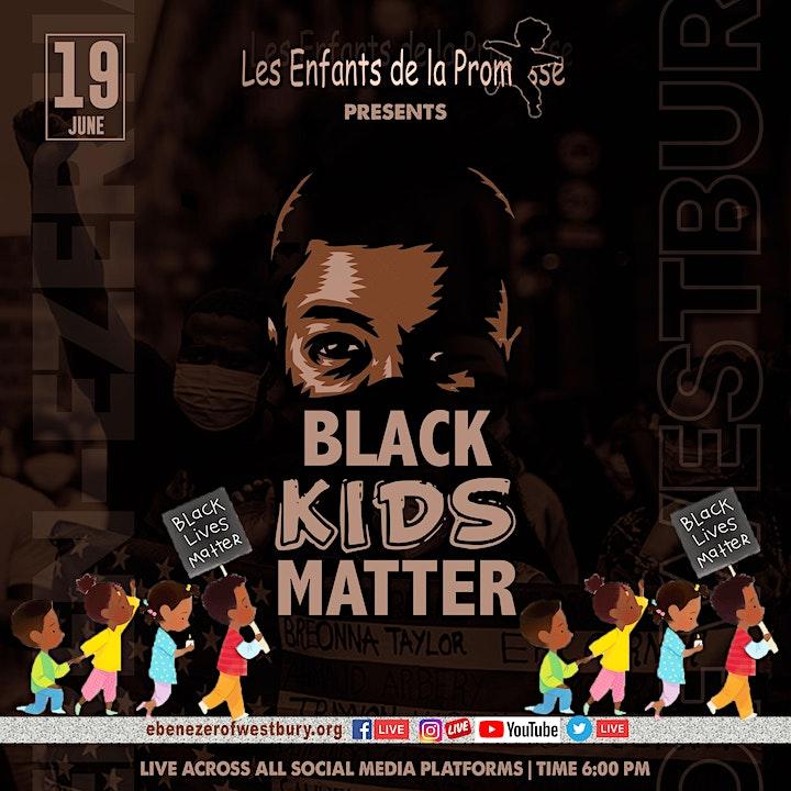 """""""Black Kids Matter"""" A Celebration of Juneteenth image"""