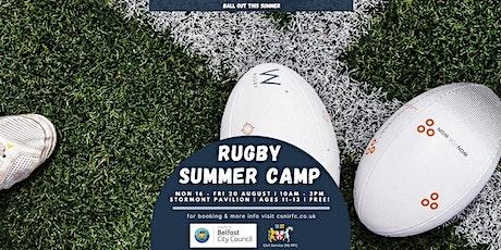 Civil Service (NI) RFC Summer Rugby Camp tickets