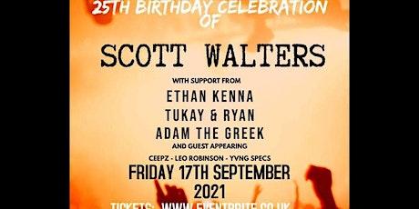 Scott Walters - Single Launch & 25th Birthday tickets
