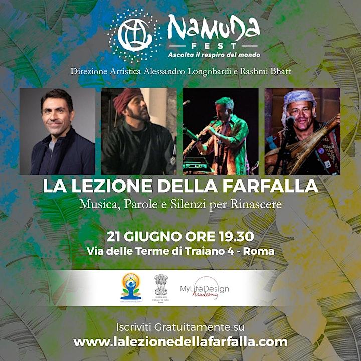 Immagine Roma, 21 giugno:  Namuda Fest con Daniel Lumera e The Turban  Project