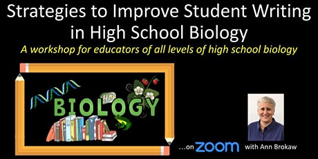 Strategies to Improve Student Writing in High School Biology tickets
