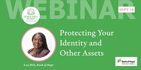 Protecting Your Identity and Other Assets tickets