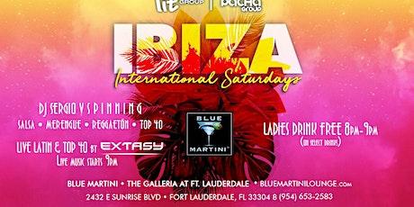 Ibiza International Saturdays @ Blue Martini Ft Lauderale! tickets