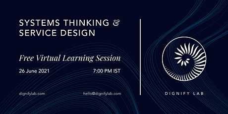 Systems Thinking & Service Design tickets