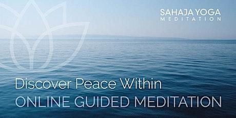 Sahaja Meditation - Discover Peace within tickets