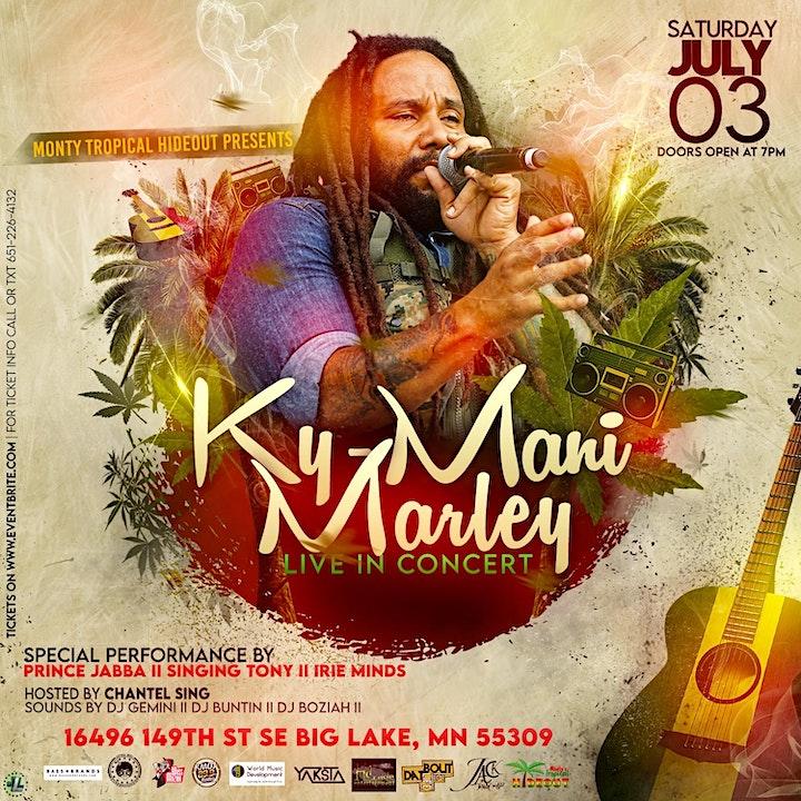 KYMANI MARLEY Live In Concert... image