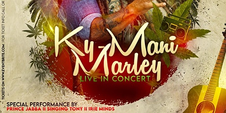 KYMANI MARLEY Live In Concert... tickets