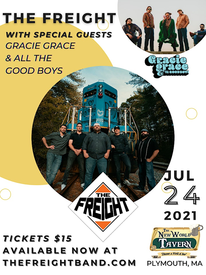The Freight -   W/S/G   Gracie Grace & All The Good Boys image