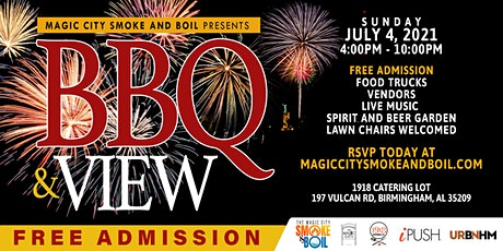 BBQ and View presented by the Magic City Smoke and Boil tickets