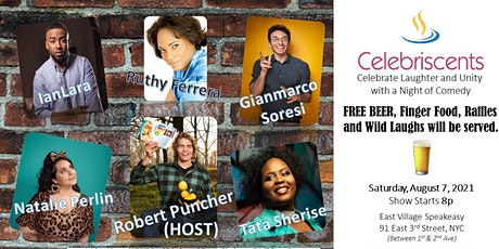 Celebriscents Celebrate Laughter & Unity Comedy Show tickets