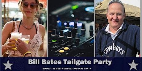 Bill Bates  Thanksgiving Tailgate Party (Raiders at Cowboys) tickets