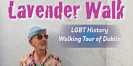Tonie's Lavender Walk: LGBT History Tour of Dublin tickets
