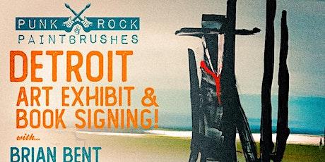 PUNK ROCK & PAINTBRUSHES DETROIT!!! tickets
