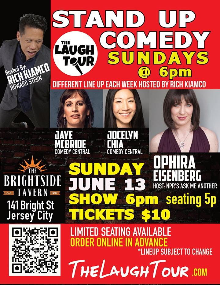 StandUp Comedy @ The Brightside image