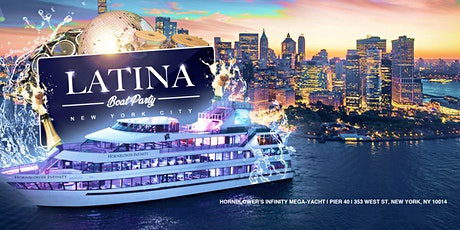 Official Latina 4th of July Fireworks Yacht Cruise NYC Boat Party tickets