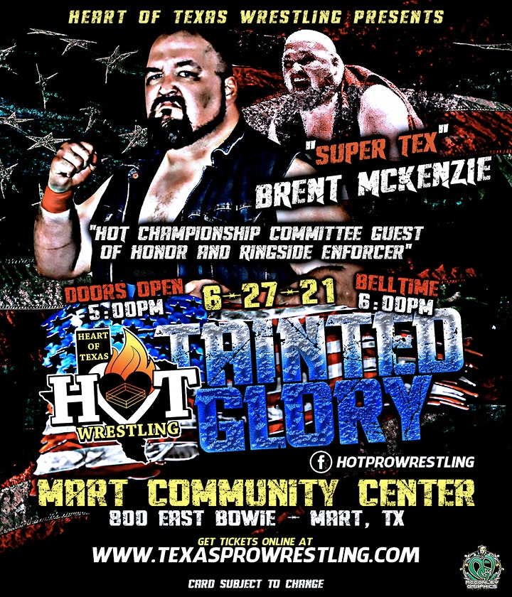 Heart of Texas Wrestling Presents, Tainted Glory image