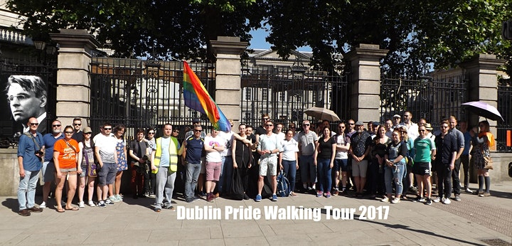 Tonie's Lavender Walk: LGBT History Tour of Dublin image