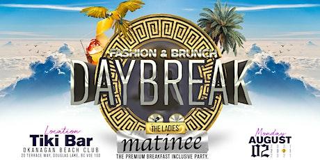 Daybreak Fashion & Brunch tickets