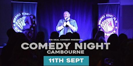 Cambourne Comedy Club tickets