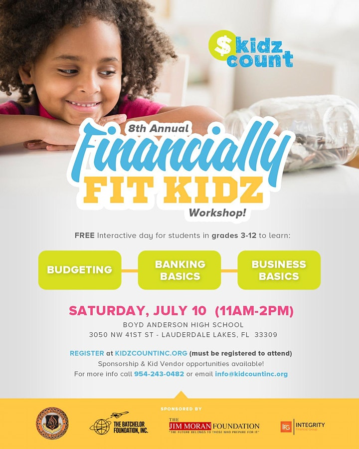 8th Annual Financially Fit Kidz Workshop image