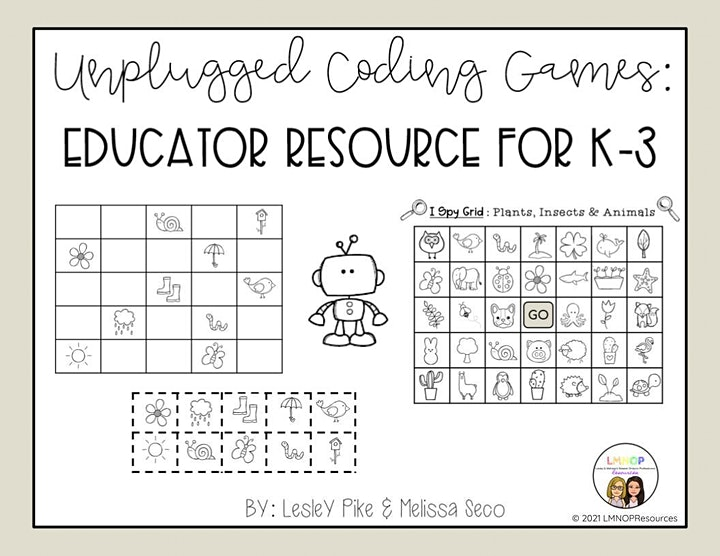 NEW Resource Webinar: Unplugged Coding Using Games in K-3 (PM Session) image