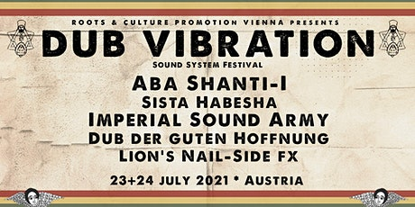 DUB VIBRATION Festival - Roots, Reggae & Dub Tickets