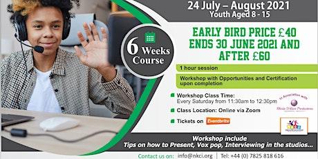Summer Present Yourself Workshop for kids billets