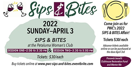 PWC Sips & Bites  April  3, 2022 tickets