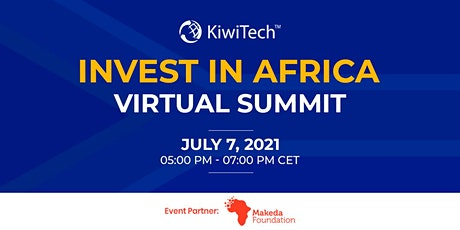 Invest in Africa Virtual Summit tickets
