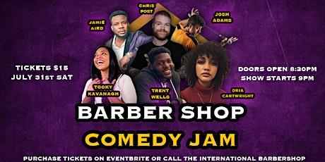 Barber shop comdey Jam tickets
