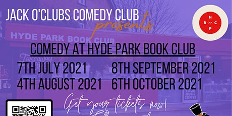 Jack O'Clubs Comedy Night at Hyde Park Book Club tickets