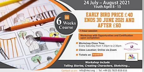 Summer Storyboard Workshop for kids tickets