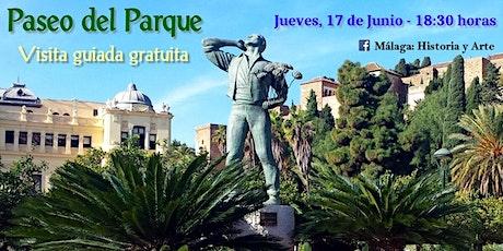 """Visita guiada gratuita """"Parque de Málaga"""" entradas"""