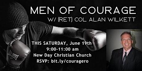 """Men of Courage"" with (Ret) COL Alan Wilkett tickets"