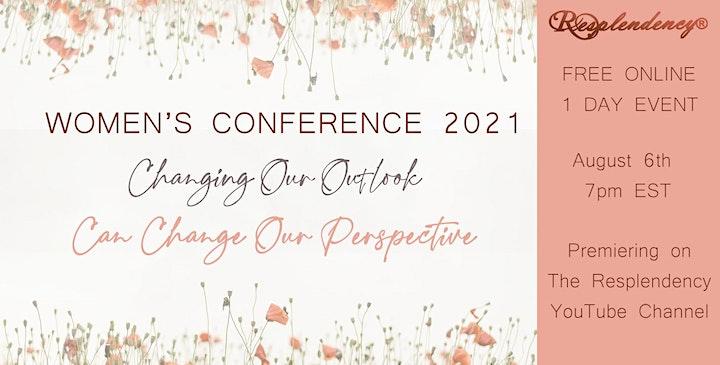Resplendency's Women's Conference 2021 ONLINE Free image