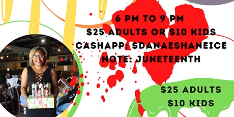 Juneteenth Paint Party tickets