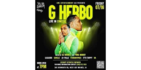 G Herbo Concert tickets