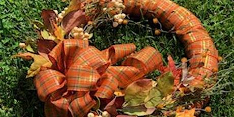 Fall Ribbon Wreath tickets