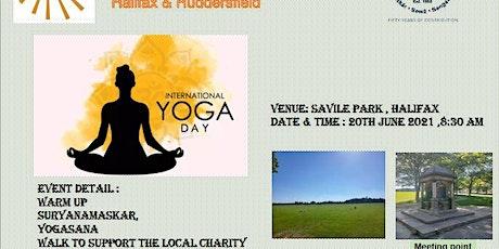 International Yoga day 2021 tickets