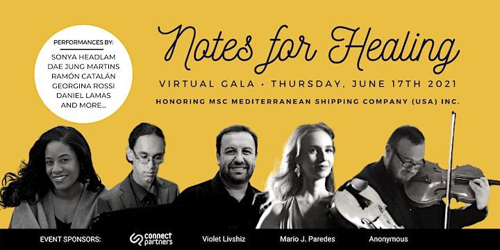 Notes for Healing Virtual Spring Gala image